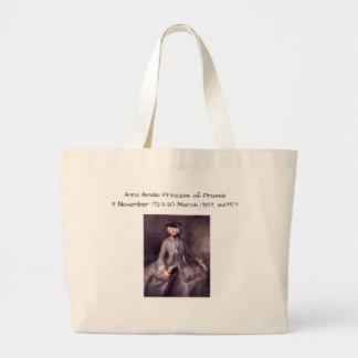 Grand Tote Bag Princesse d'Anna Amalia de la Prusse av1757