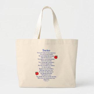 Grand Tote Bag Professeur