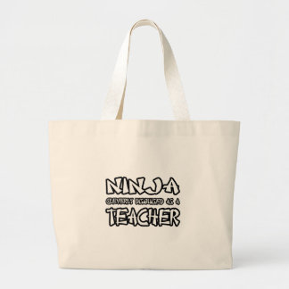 Grand Tote Bag Professeur de Ninja…