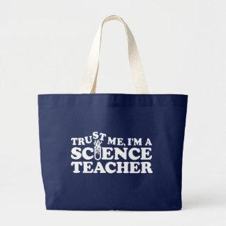 Grand Tote Bag Professeur de Sciences