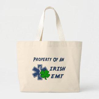 Grand Tote Bag Propriété irlandaise d'EMT