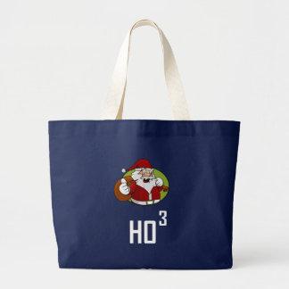 Grand Tote Bag Puissance de Père Noël Ho3 de 3 cubée