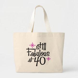 Grand Tote Bag quarantième Anniversaire