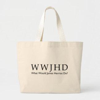 Grand Tote Bag Que James Herriot ferait-il ? Pièce en t de