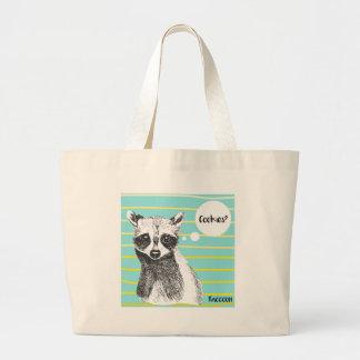 Grand Tote Bag Raccoon_Cookies_113323534.ai