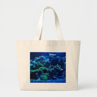Grand Tote Bag Récif coralien tropical