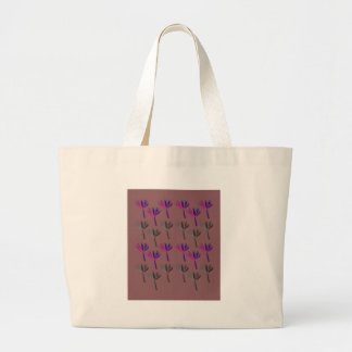 Grand Tote Bag Regard d'eco de paumes de conception