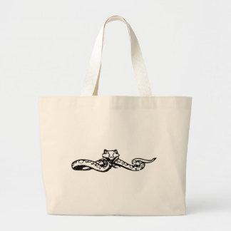 Grand Tote Bag Regard fixe de serpent