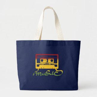 Grand Tote Bag reggae de bande de rasta