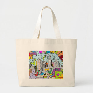Grand Tote Bag Rénovation urbaine