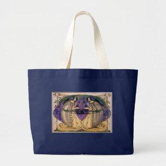 Grand Tote Bag Ressort par Frances Macdonald
