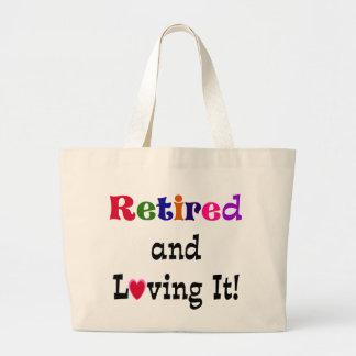 Grand Tote Bag Retiré et l'aimant