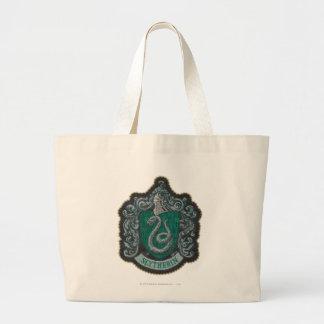 Grand Tote Bag Rétro Slytherin crête puissante de Harry Potter  