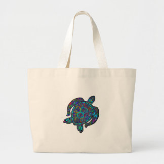 GRAND TOTE BAG RÊVE DE TORTUE PARTI