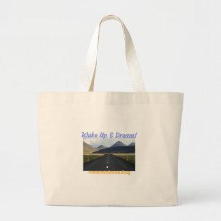 Grand Tote Bag Réveillez-vous et rêvez