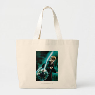 Grand Tote Bag Ron Weasley et Lucius Malfoy
