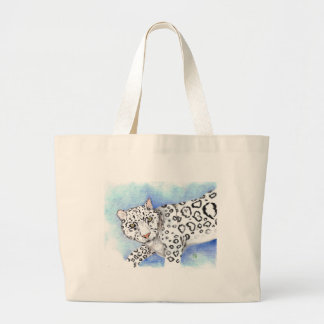 "Grand Tote Bag ""Ronronnement de Grrr """