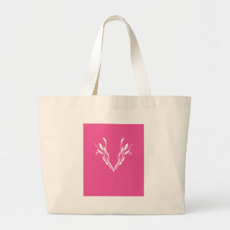Grand Tote Bag Rose délicieux de mandala de conception