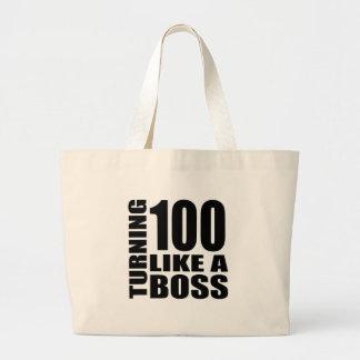Grand Tote Bag Rotation de 100 comme des conceptions d'un