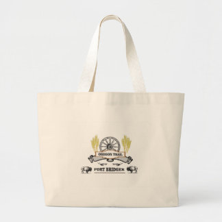 Grand Tote Bag roue de bridger de fort