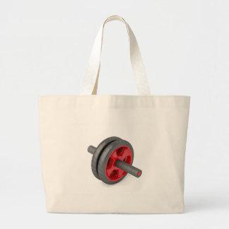Grand Tote Bag Roue de tonalité abdominale