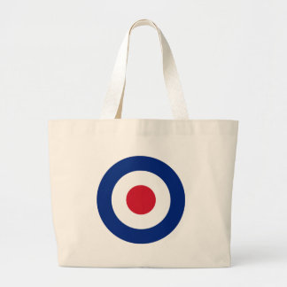 Grand Tote Bag Rouge bleu et blanc de mod
