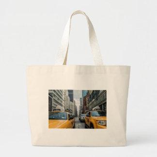 Grand Tote Bag Route Nyc de rue de New York de cabine du trafic