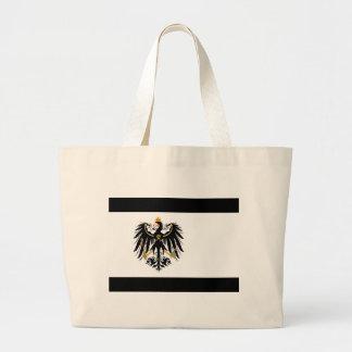 Grand Tote Bag Royaume drapeau national de Prusse