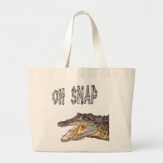 Grand Tote Bag RUPTURE de l'OH - alligator fâché