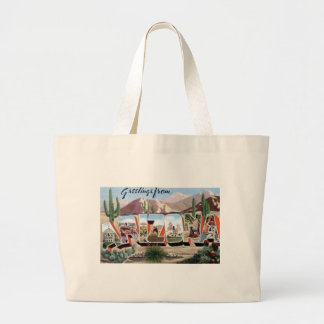 Grand Tote Bag Salutations d'Arizona
