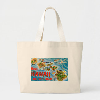 Grand Tote Bag Salutations d'Hawaï