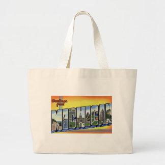 Grand Tote Bag Salutations du Michigan
