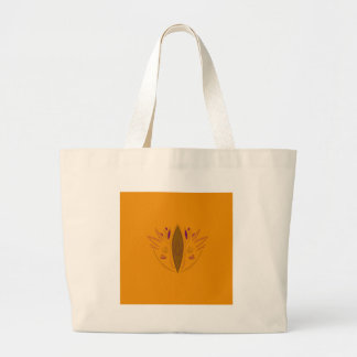 Grand Tote Bag Santé de conception de mandala de sable