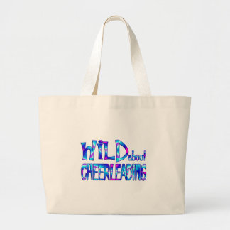 Grand Tote Bag Sauvage au sujet de Cheerleading