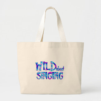 Grand Tote Bag Sauvage au sujet du chant