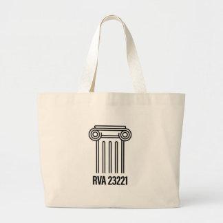 Grand Tote Bag Secteur de musée, RVA 23221