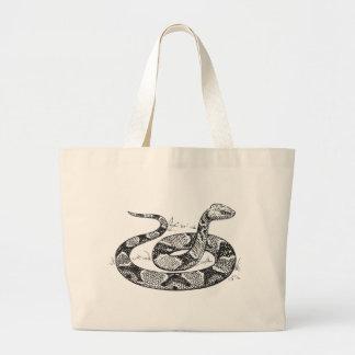 Grand Tote Bag Serpent de Copperhead