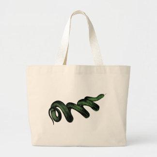 Grand Tote Bag Serpent enroulé