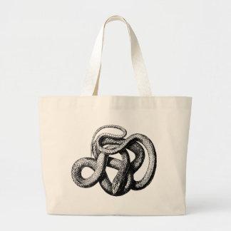 Grand Tote Bag Serpent tordu