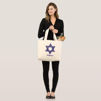 Grand Tote Bag Shalom - Fourre-tout