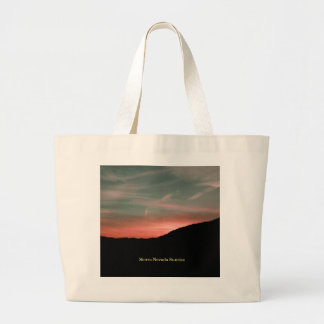 Grand Tote Bag Sierra lever de soleil de Nevada