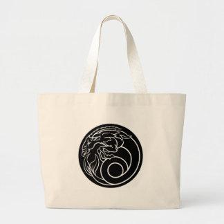 Grand Tote Bag Signe d'astrologie de zodiaque d'horoscope de