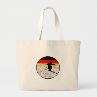 Grand Tote Bag Ski Allemagne