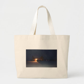 Grand Tote Bag Soirée d'hiver
