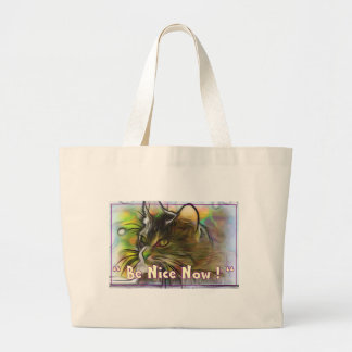 Grand Tote Bag Soyez Nice maintenant