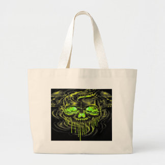Grand Tote Bag Squelettes brillants de Yella