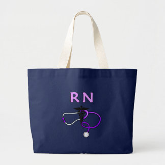 Grand Tote Bag Stéthoscope de RN