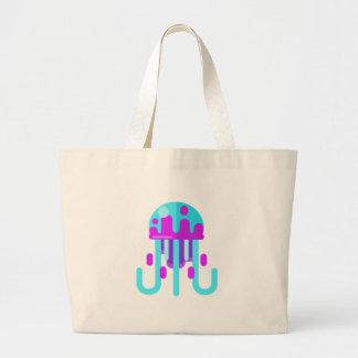 Grand Tote Bag Style de primitif de méduses