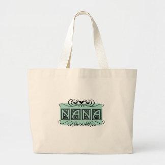 Grand Tote Bag T-shirts et cadeaux de Nana de plaque signalétique