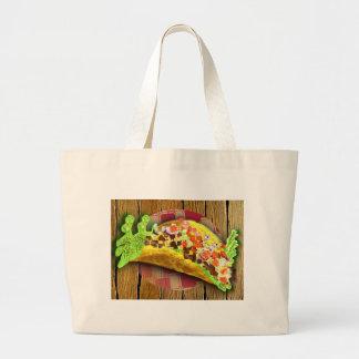 Grand Tote Bag Taco de pixel